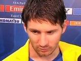 """Deportes: Messi: """"Fuimos muy superiores al Santos"""""""