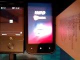 HTC 7 Mozart vs HTC Diamond uruchamianie