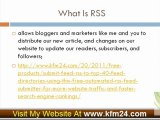 Submit Feed RSS to Top 40+ Feed Directories Using this Free Automated RSS Feed Submitter for more website traffic and faster search engine rankings.