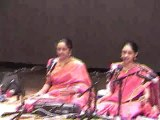 DR. NAG RAO PRESENTS RANJANI AND GAYATRI IN CONCERT IN CLEVELAND, OHIO:  PART -1