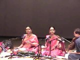 DR. NAG RAO PRESENTS RANJANI AND GAYATRI IN CONCERT IN CLEVELAND, OHIO:  PART -2