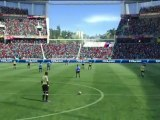 FIFA 2010 World Cup South Africa (360) - Le gameplay à deux boutons