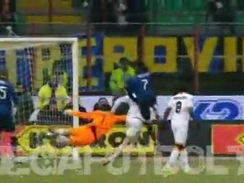 Inter Milan -Lecce (4:1) 21/12/2011 Goals Highlights Goles Milito