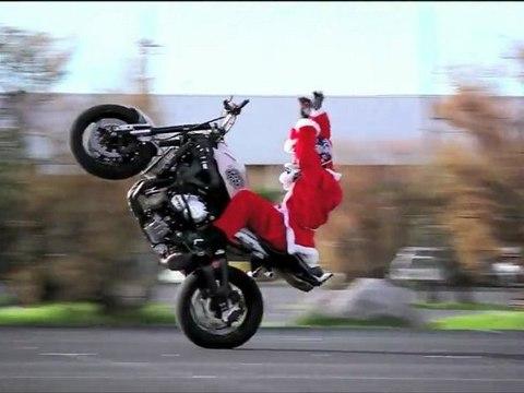 Video Bonus - Santa Claus Freestyle Motorbike - Jorian Ponomareff