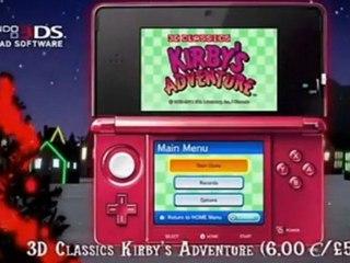 Les téléchargements de Noël chez Nintendo de