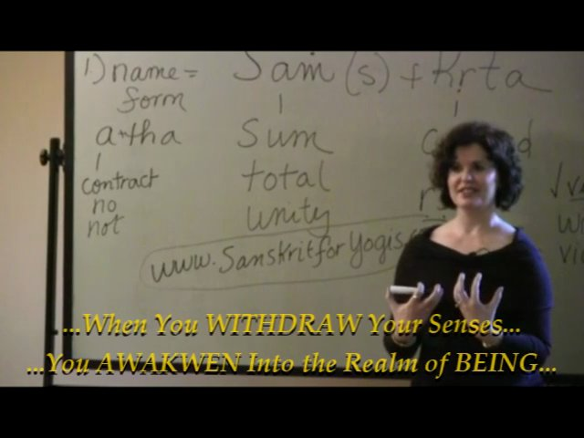 Sanskrit For Yoga Introduction to Sanskrit — Lesson 9