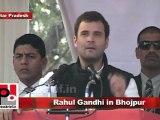 Congress Leader Rahul Gandhi in Bhojpur (U.P) Part 9