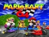 [Challenge] Mario Kart 64 / La Coupe Champignon
