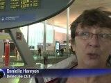Aéroports: les agents de sûreté ont repris le travail