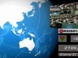 Bolsas; Mercados internacionales: Cierre jueves 26 mayo y media sesión viernes 27 mayo