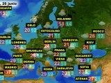 El tiempo en Europa, por países, previsión del sábado 25 y el domingo 26 de junio