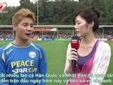 [Vietsub] 110925 MBC Peace Star Cup interview - JunSu cut [JYJ-tune]