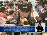 Alcadía de Sucre entregó ayudas a familias afectadas por las lluvias