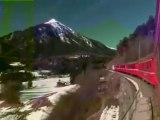 Na cestě po Graubündenu (železniční část, CZ)