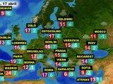 El tiempo en Europa, por países, previsión para el sábado 16 y domingo 17