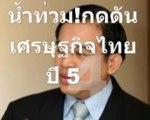 น้ำท่วม!กดดันเศรษฐกิจไทยปี54โตแค่1.1%