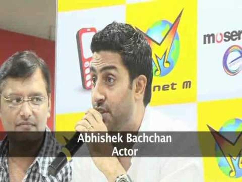 Abhishek Bachchan Launches DVD Of 'Dum Maaro Dum' - Bollywood Hungama