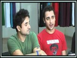 Imran Khan, Vir Das & Kunal Roy Kapoor of Delhi Belly Unveil Aamir Khan Productions T-Shirts