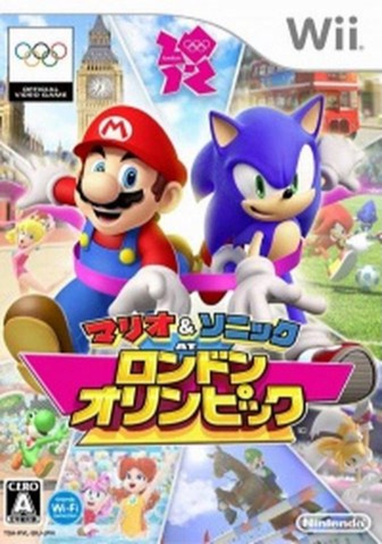 Mario & Sonic at the London 2012 Olympic Games Wii ISO Download (JPN)  (NTSC-J)