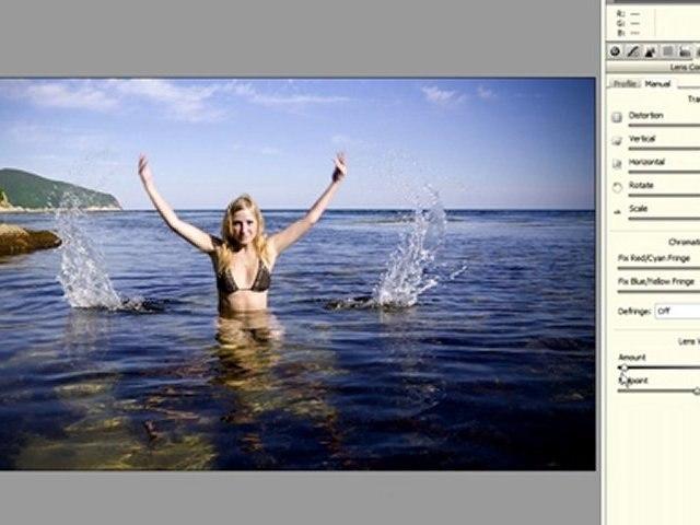 Create A Vignette in Photoshop CS5