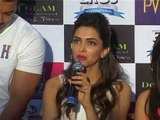John, Deepika, Akshay & Chitrangda promoting 'Desi Boyz' In Bangalore