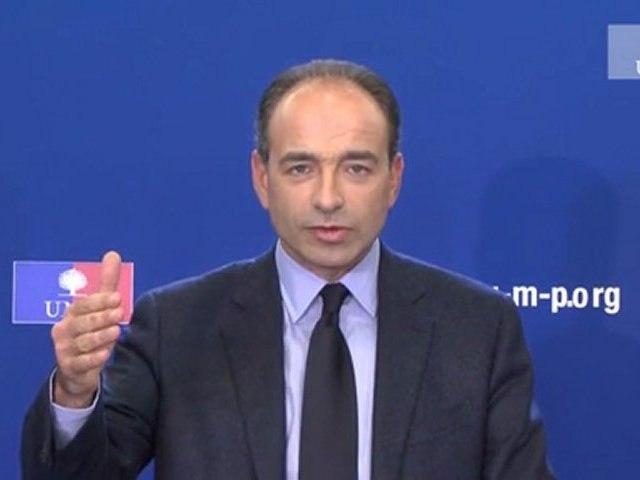 UMP - Voeux de Jean-François Copé pour l'année 2012