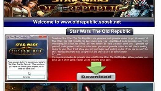 Star Wars Old Republic Keygen & Crack by Reloaded