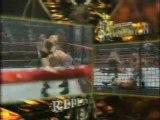 WWE New Year's Revolution '05 - HHH vs Batista vs Randy Orton vs Edge vs Chris Benoit vs Chris Jericho (Elimination Chamber)