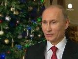 Les vœux grinçants de Poutine à tous les citoyens russes