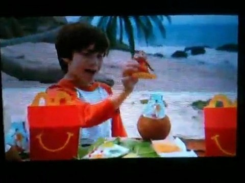 Alvin And The Chipmunks Chipwrecked Mcdonald S Commercial Video Dailymotion