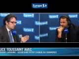 """TVA : Lefebvre estime les hausses """"justes"""""""