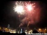 Artificiile in noaptea de Revelion in Bacau
