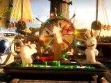 The Lapins Crétins : Retour vers le passé (WII) - Les Lapins en Amérique