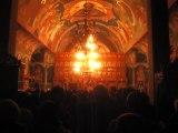 Parintele Justin Parvu in noaptea Anului Nou 2012 la Manastirea Paltin-Petru Voda