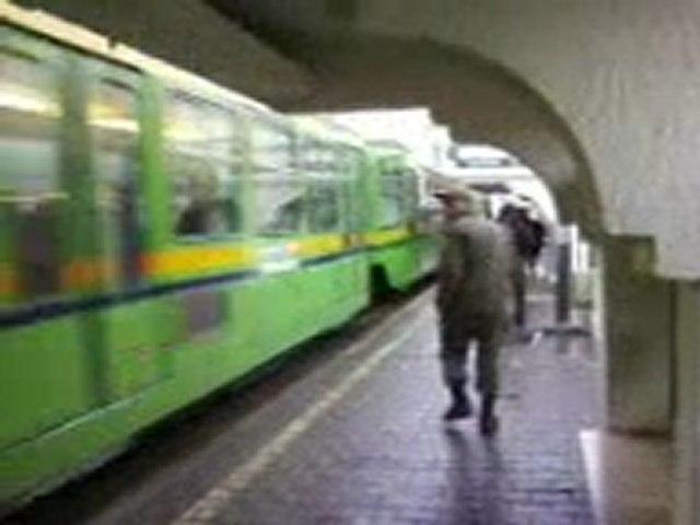 metro léger de tunis a la station de bouchoucha bardo tunis tunisie (1) | Godialy.com