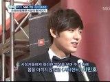 [News] Lee Min Ho Interview his awards at SBS Drama Awards 2011
