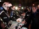 Déplacement de Claude Guéant à Paris et en région parisienne au sujet du dispositif de sécurité des festivités du 31 décembre 2011