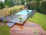 Mérignies Construction, rénovation, entretien de piscines - Piscine et Jardin - Spa Sauna Hammam - Nord 59
