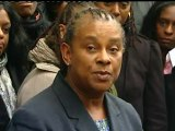 Stephen Lawrence's mum Doreen speaks at the Old Bailey