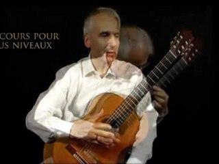Cours de guitare classique avec Lucien Battaglia