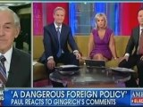 """Ron Paul to Fox and Friends """"The American people and the soldier are the real foreign policy expert"""""""