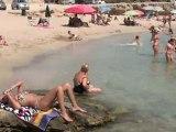 La spiaggia di Marina di Mancaversa (LE)  - ApuliaTV alla scoperta della Puglia -