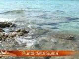 La spiaggia di Punta della Suina (Gallipoli) - ApuliaTV alla scoperta della Puglia -