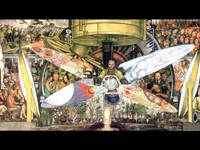 Diego Rivera's Depression-era message, today