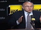 """Michel Sapin (PS) : """"En 2012, tous les impôts vont augmenter sauf l'ISF"""""""