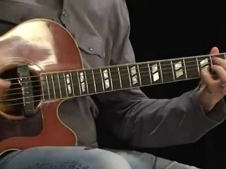 Cours guitare acoustique  - Le picking