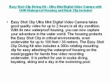 Buy Cheap Easy Shot Clip Diving Kit - Ultra Mini Digital Video Camera with 100ft Waterproof Housing and Mask Clip included.
