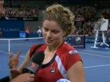 Kim Clijsters in gran forma - Brisbane, quarti