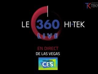 LE 360 HI-TEK en direct de Las Vegas (CES 2012) : vendredi 13 janvier, 19H-20H (heure de Paris)