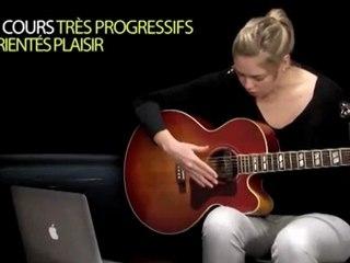Cours de guitare en ligne sur Imusic-School